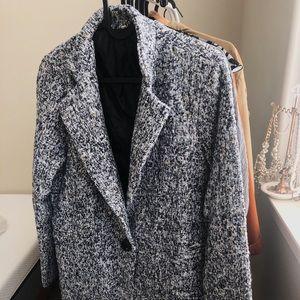 Warm Tweed Coat